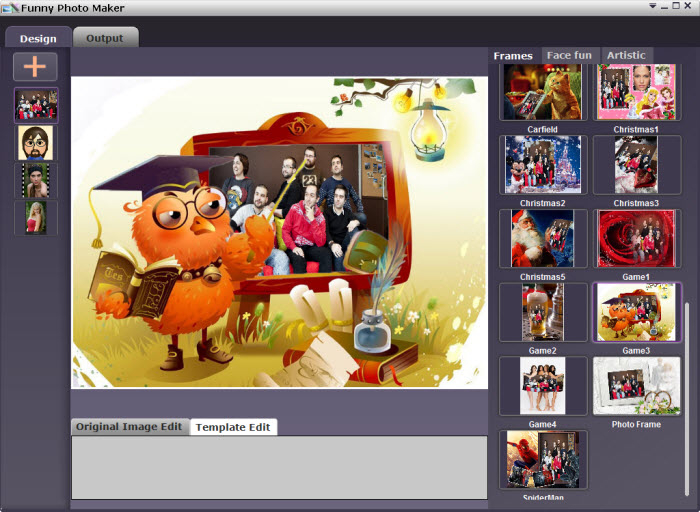 Free download funny photo editing software
