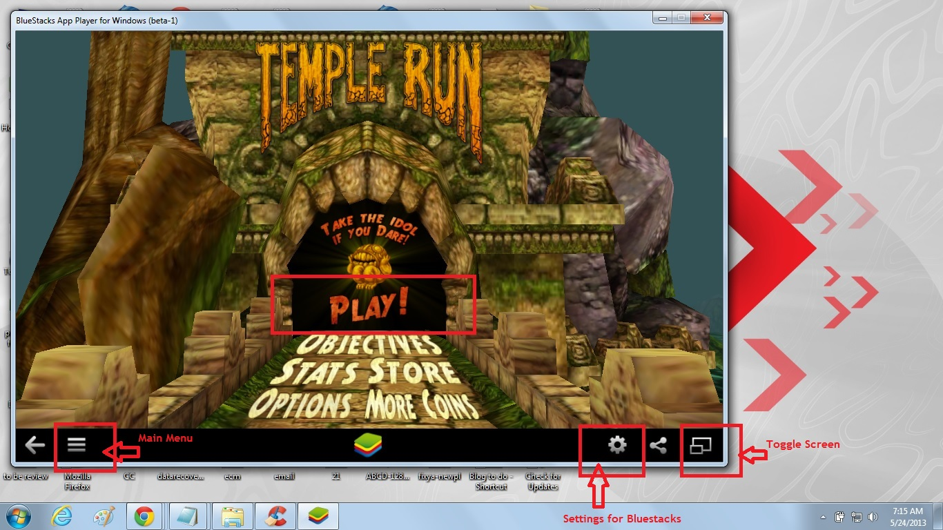 Quick Steps To Install And Play Temple Run Full Version
